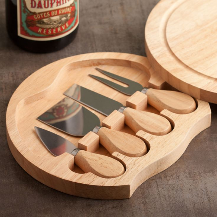 Personalised Cheese Board and Knife Set product image