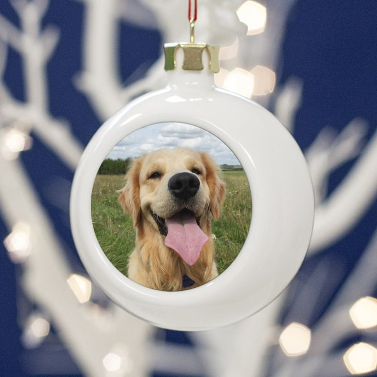 Personalised Pet Photo Bauble product image