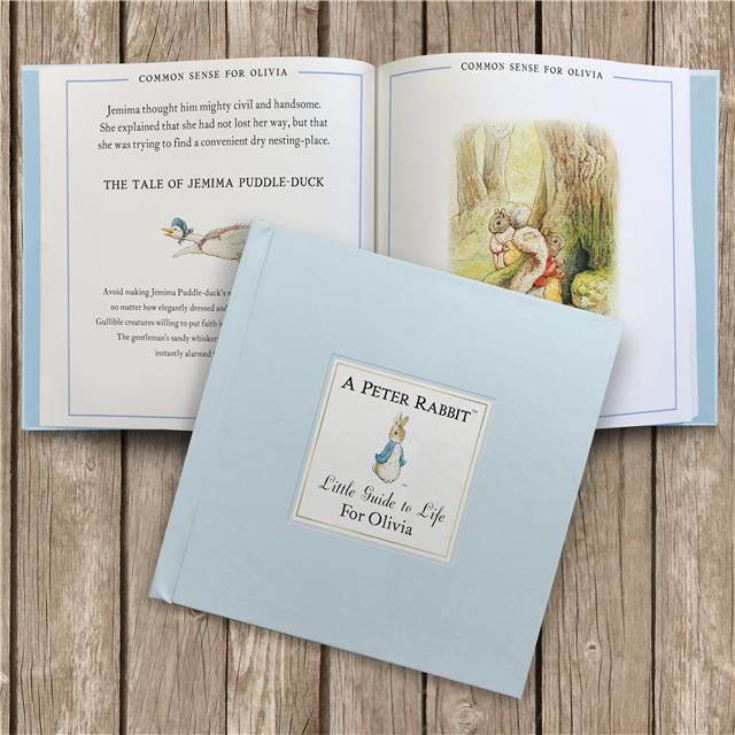 The Peter Rabbit Little Guide to Life - Personalised Childrens Book product image