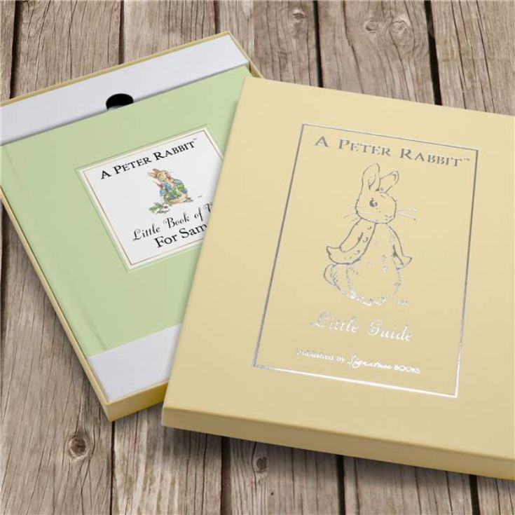 The Peter Rabbit Little Book of Virtue - Personalised Childrens Book product image