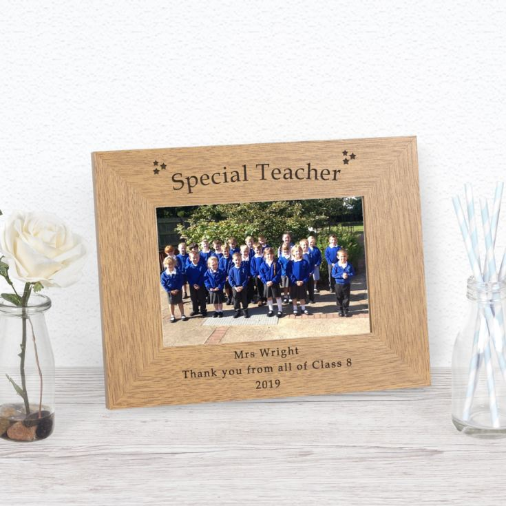 Special Teacher Wood Photo Frame 6x4 product image