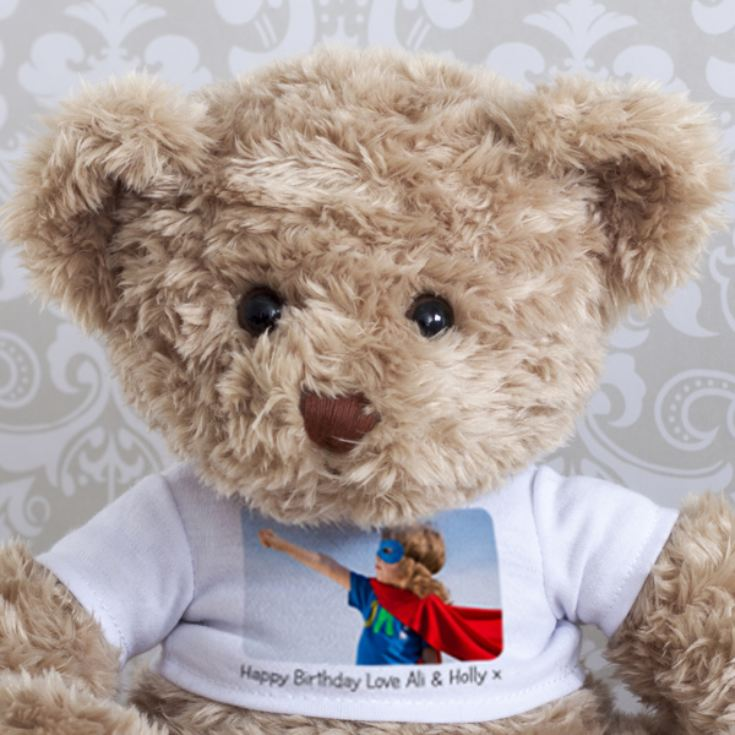 Personalised Photo Teddy Bear product image