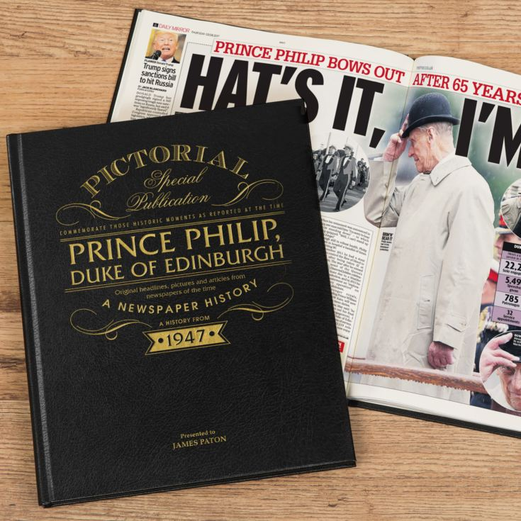 Prince Philip – A Pictorial Newspaper Book product image