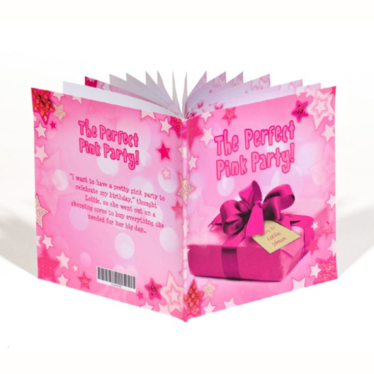 Personalised Children's Book - The Perfect Pink Party product image