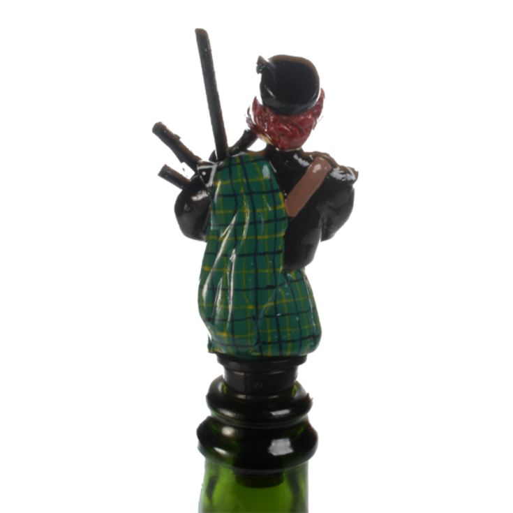 Scottish Bagpipe Player Bottle Stopper product image