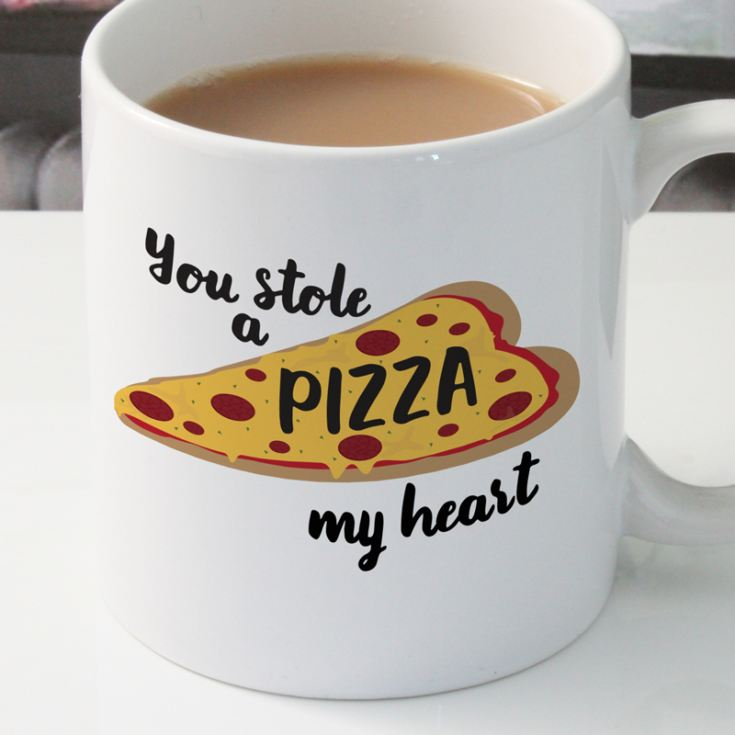 Personalised Pizza My Heart Mug product image