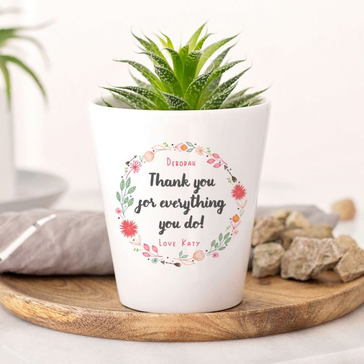 Personalised Plant Pot product image