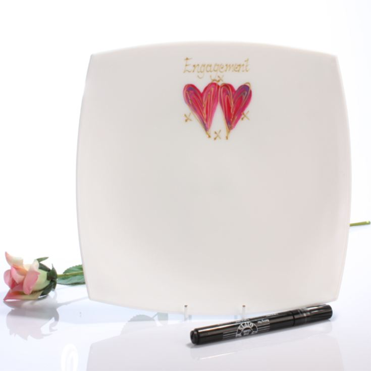 Engagement Signature Plate product image