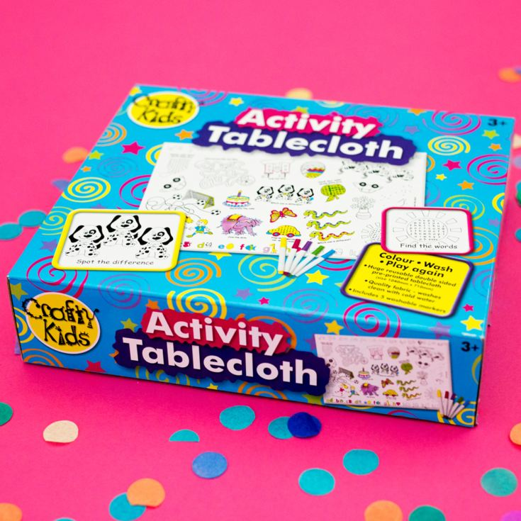 Activity Tablecloth product image