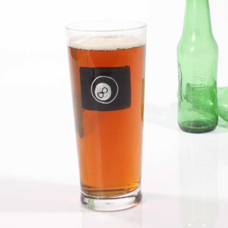 Pool Pint Glass product image
