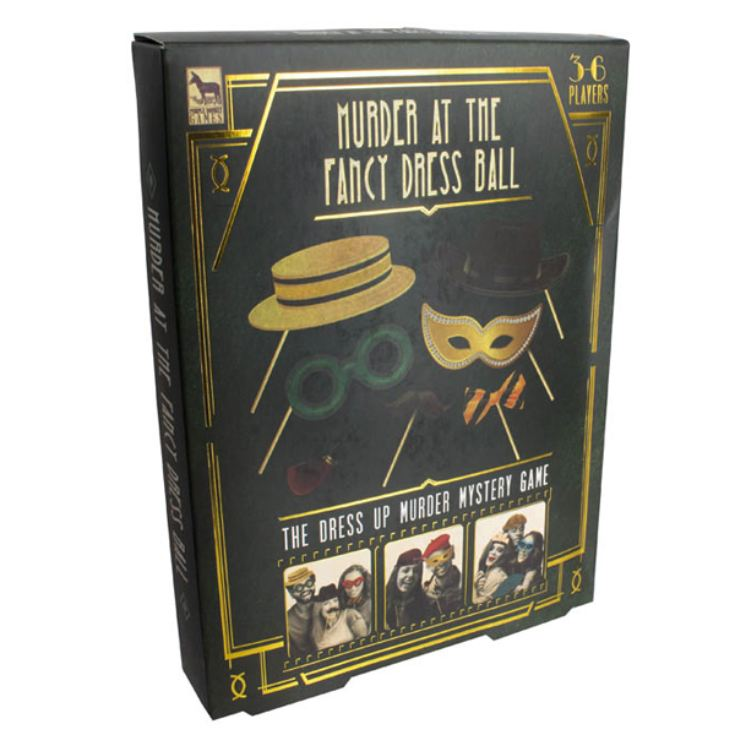 Murder At The Fancy Dress Ball Mystery Game product image