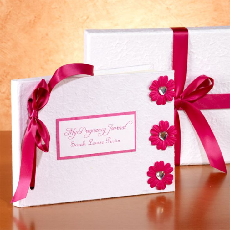 Personalised Pregnancy Journal product image