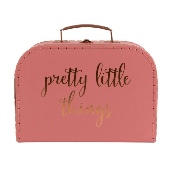 Pretty Little Things Suitcase Jewellery Box product image