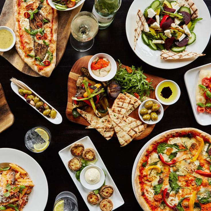 Three Course Meal with Glass of Wine for Two at Prezzo  product image