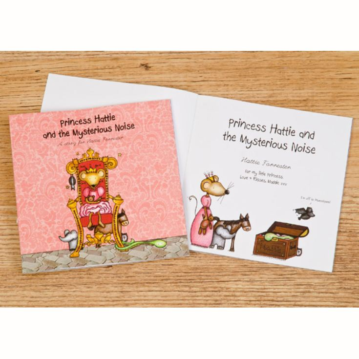 Personalised Children's Book - The Princess and the Mysterious Noise product image