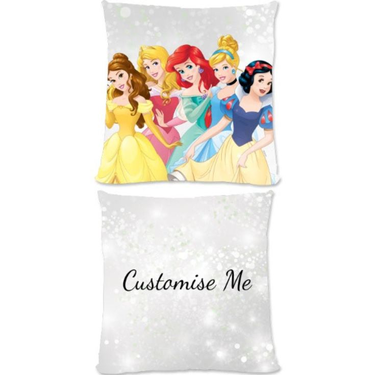 Personalised Disney Princess Group Scene Large Cushion product image