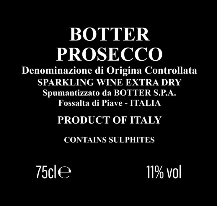 Congratulations on the Birth Personalised Prosecco product image