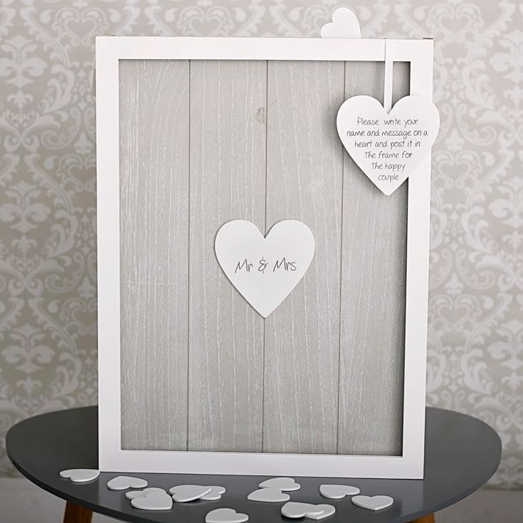 Provence Wedding Heart Message Drop Box product image