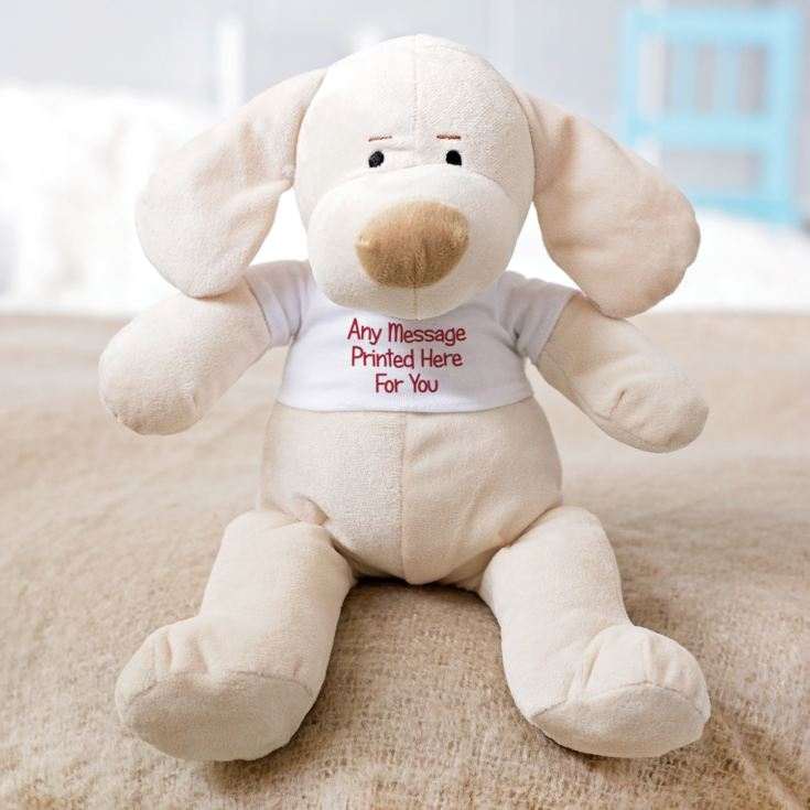 Personalised Puppy Soft Toy product image