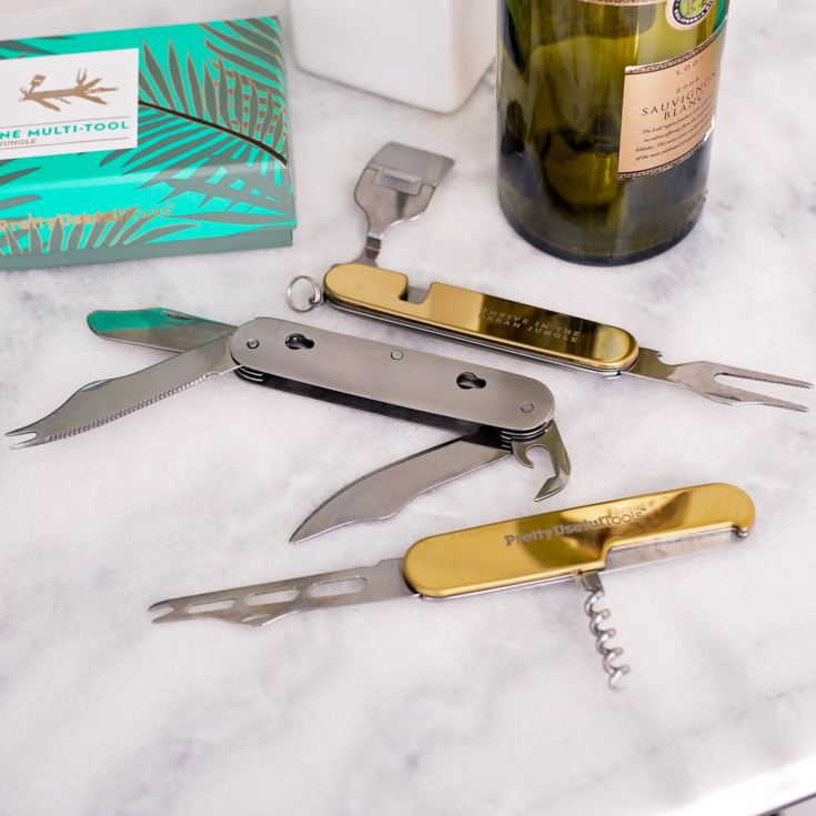 Pretty Useful Tools - Cheese & Wine Multi-Tool product image