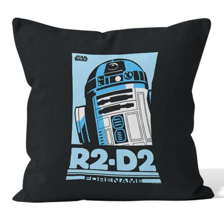 Personalised Star Wars R2 D2 Pop Art Cushion product image