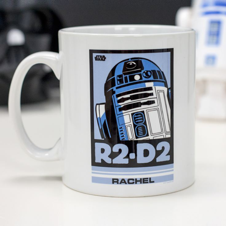 Personalised Star Wars R2 D2 Pop Art Mug product image