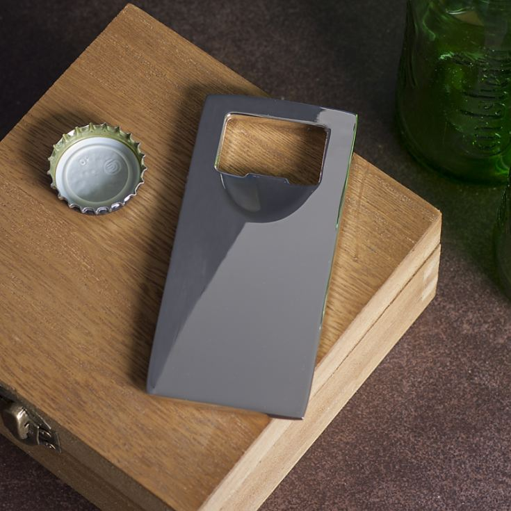 Top Off Engraved Bottle Opener product image