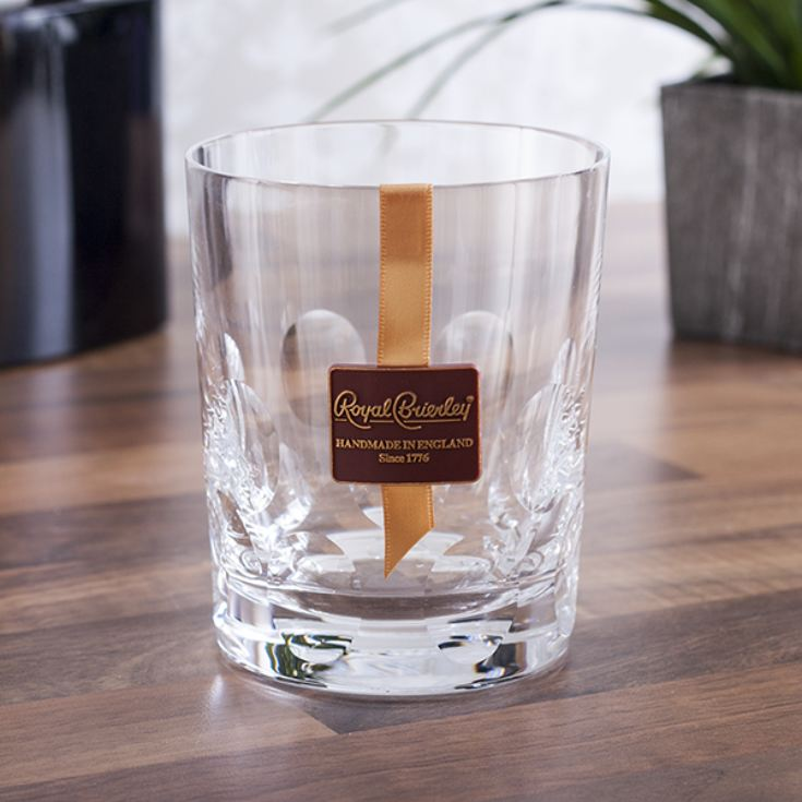 Personalised Royal Brierley Deauville Luxury Crystal Tumbler product image
