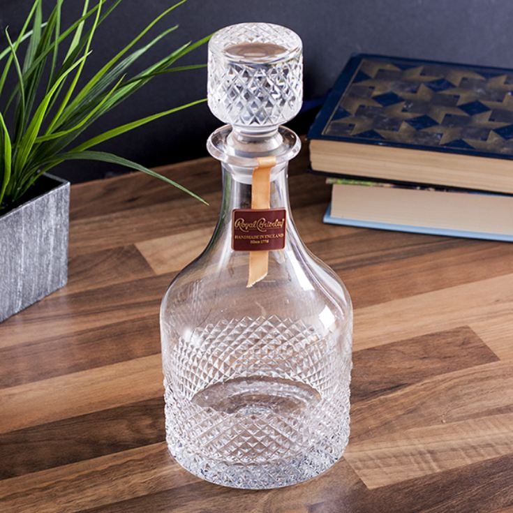 Personalised Royal Brierley Luxury Cut Crystal Antibes Decanter product image