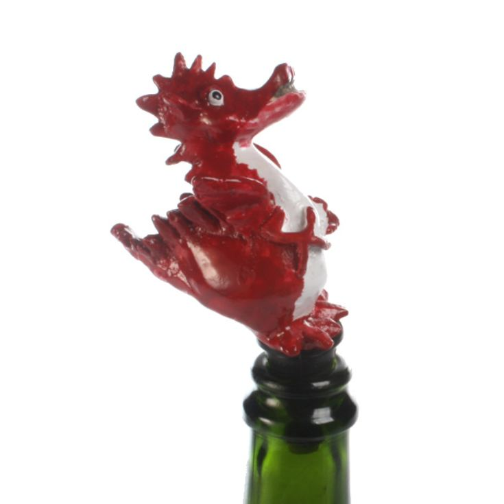 Red Dragon Bottle Stopper product image