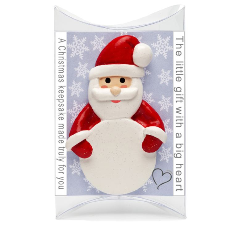 Red Father Christmas Personalised Hanging Ornament product image