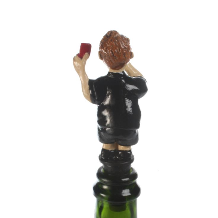Football Referee Bottle Stopper product image