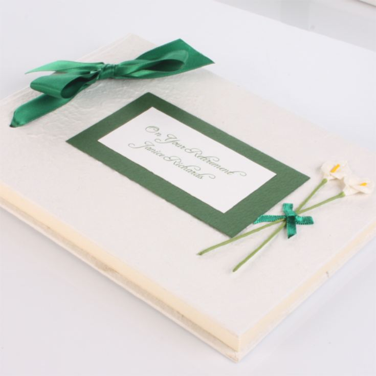 Personalised Handmade Retirement Photo Album product image