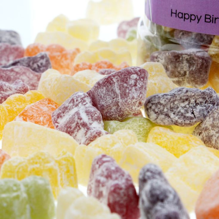 Personalised Jelly Babies Sweet Jar product image
