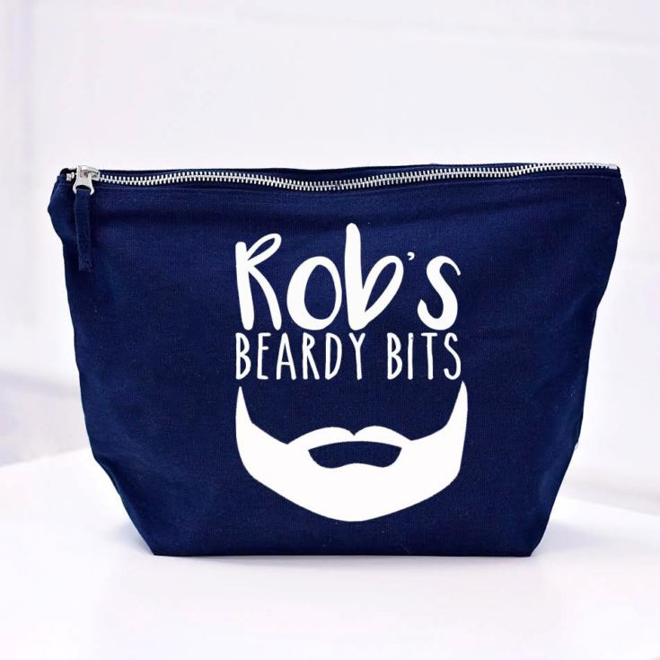 Personalised Beardy Bits Wash Bag product image