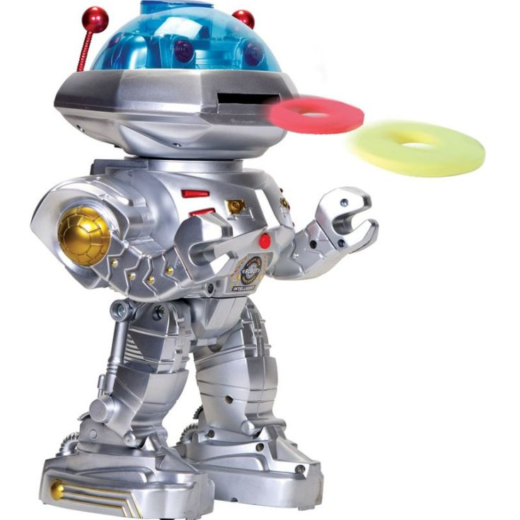 Spacebot 3000 Remote Control Disc Shooting And Dancing Toy product image