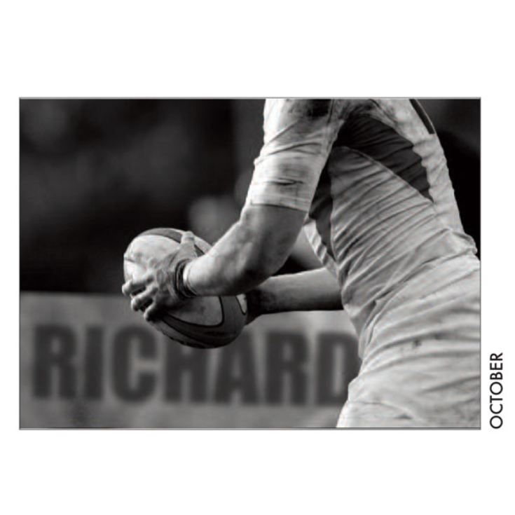 Personalised Rugby Calendar product image