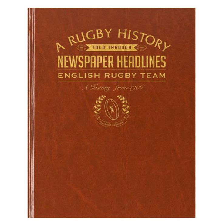 Personalised - 100 Year English Rugby History Book product image