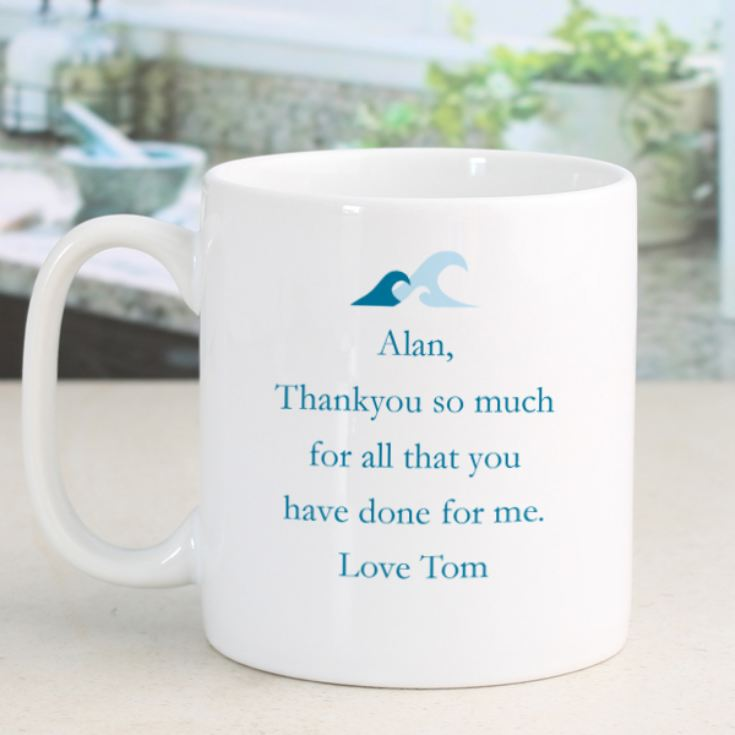 Personalised Simply The Best Sailing Design Mug product image