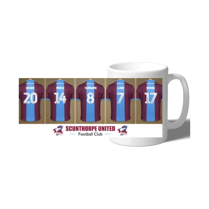 Personalised Scunthorpe United FC Dressing Room Mug product image