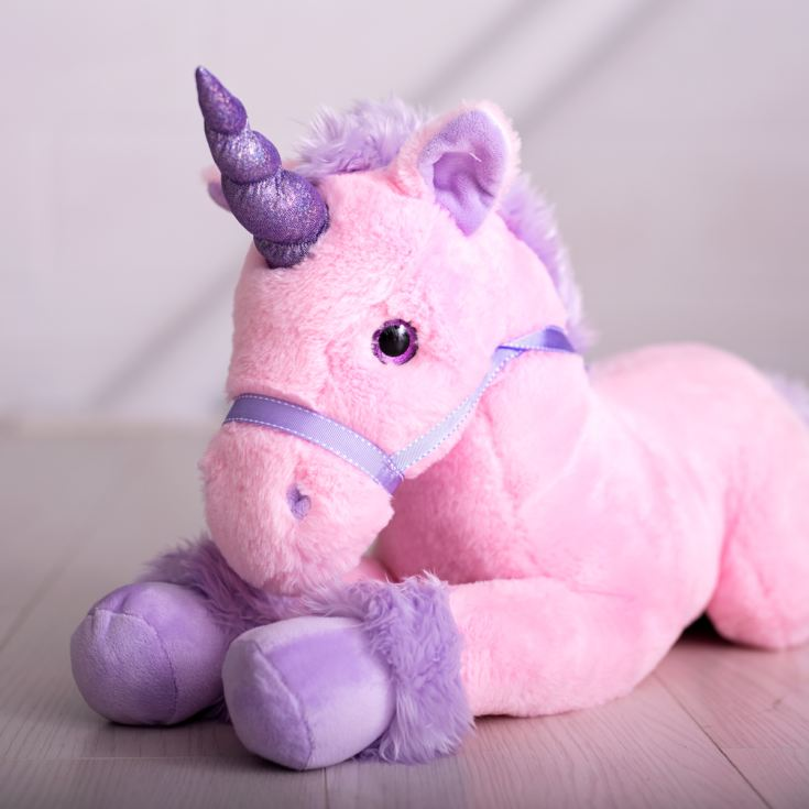 Large Unicorn Pink 70cm product image