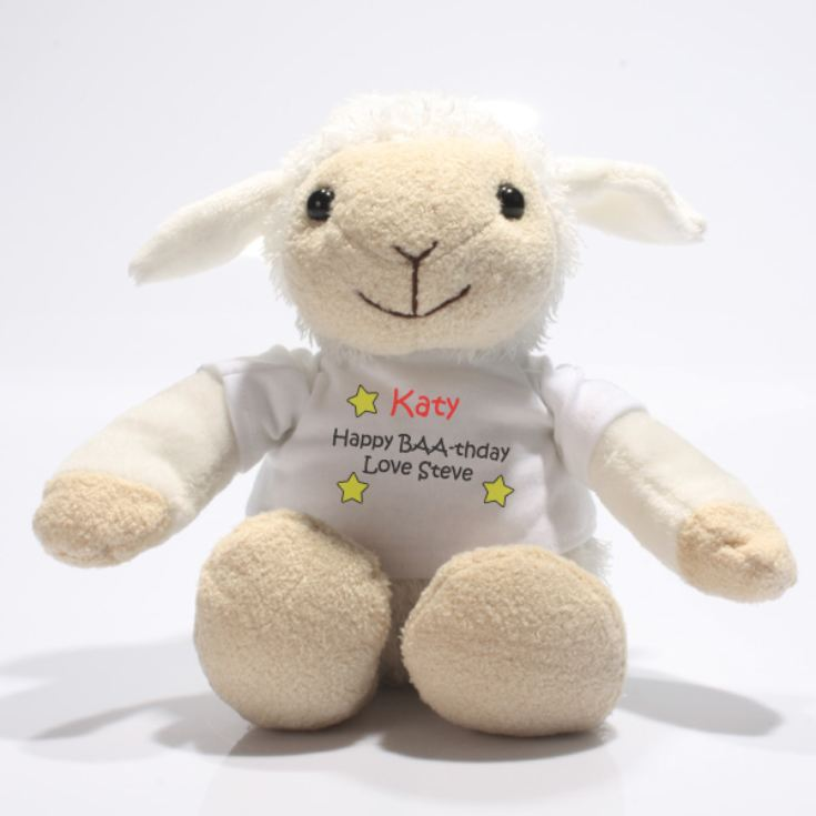 Personalised Valentine's Little Lamb product image