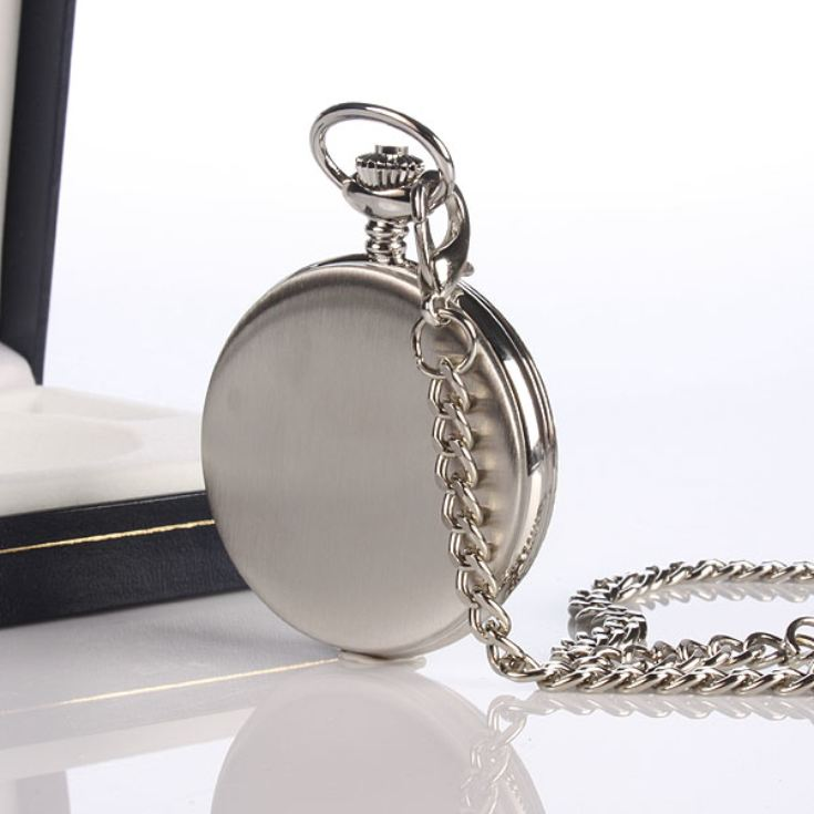 Skeleton Personalised Pocket Watch product image
