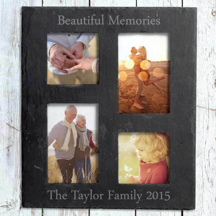 Personalised Slate Photo Collage product image