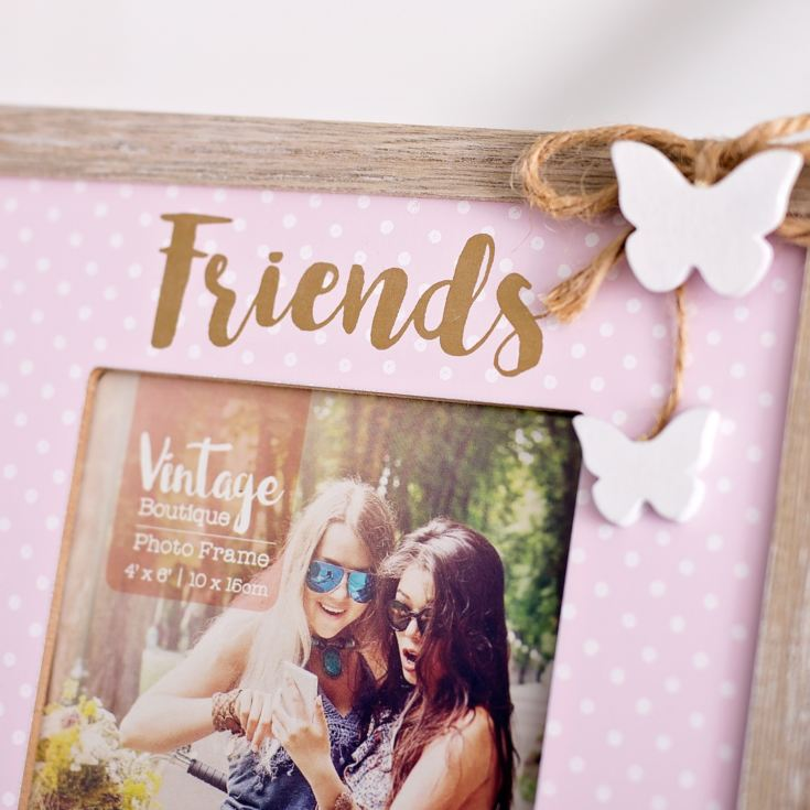 Vintage Boutique Friends Photo Frame 4 x 6 product image