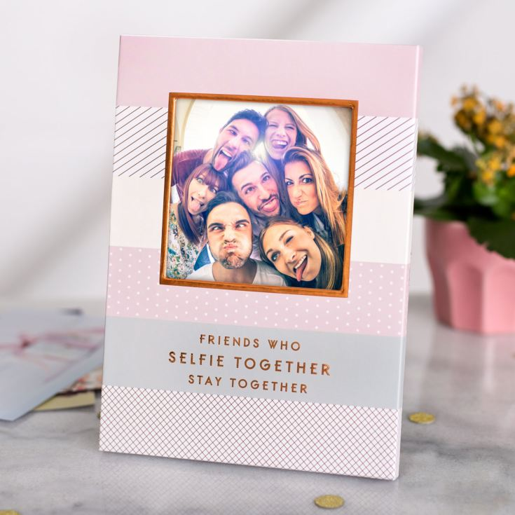 By Appointment Friends Who Selfie Together Photo Frame 4 X 4 product image