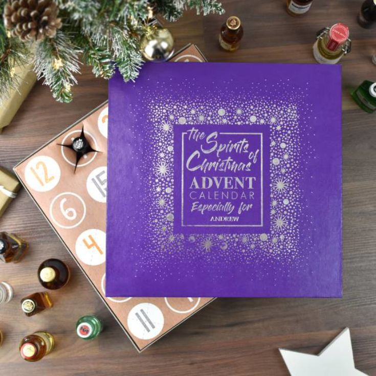Personalised Mixed Spirits Advent Calendar product image