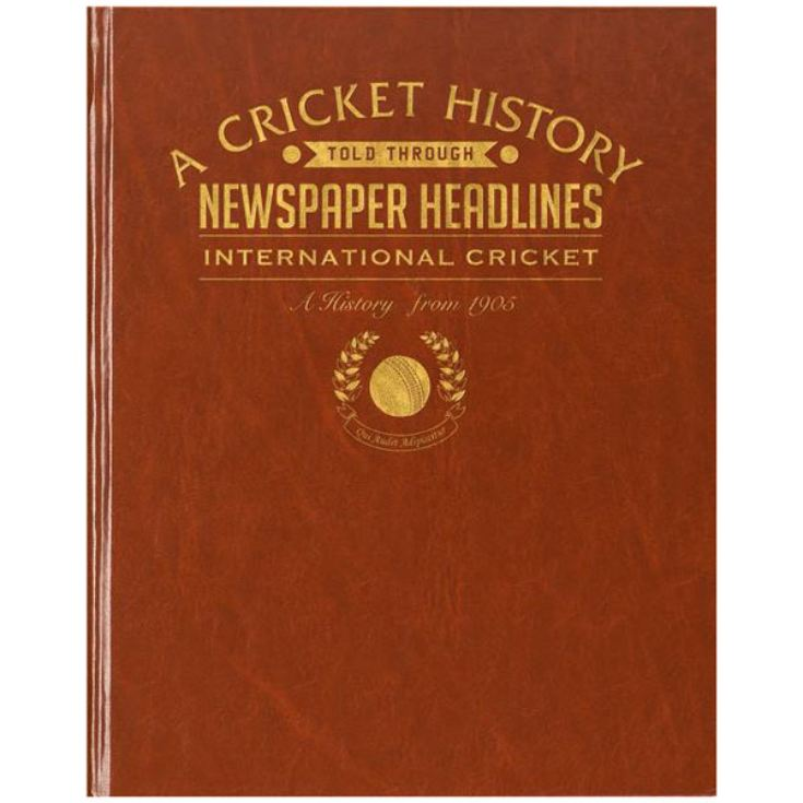 Personalised Cricket Book product image