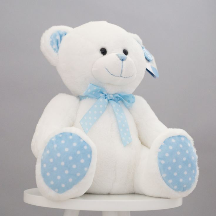 Baby Boy Teddy Bear Soft Toy product image