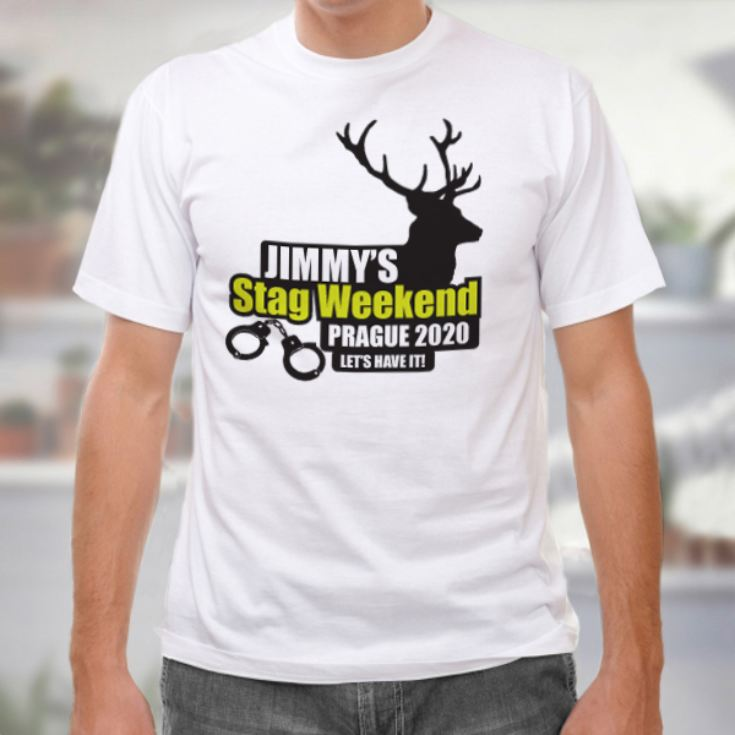 Stag Round Neck T-Shirt - product image